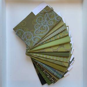 {Pallas} - Textile Swatch Bundle